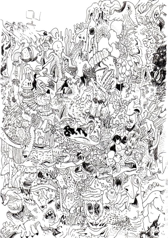 fleh-doodling